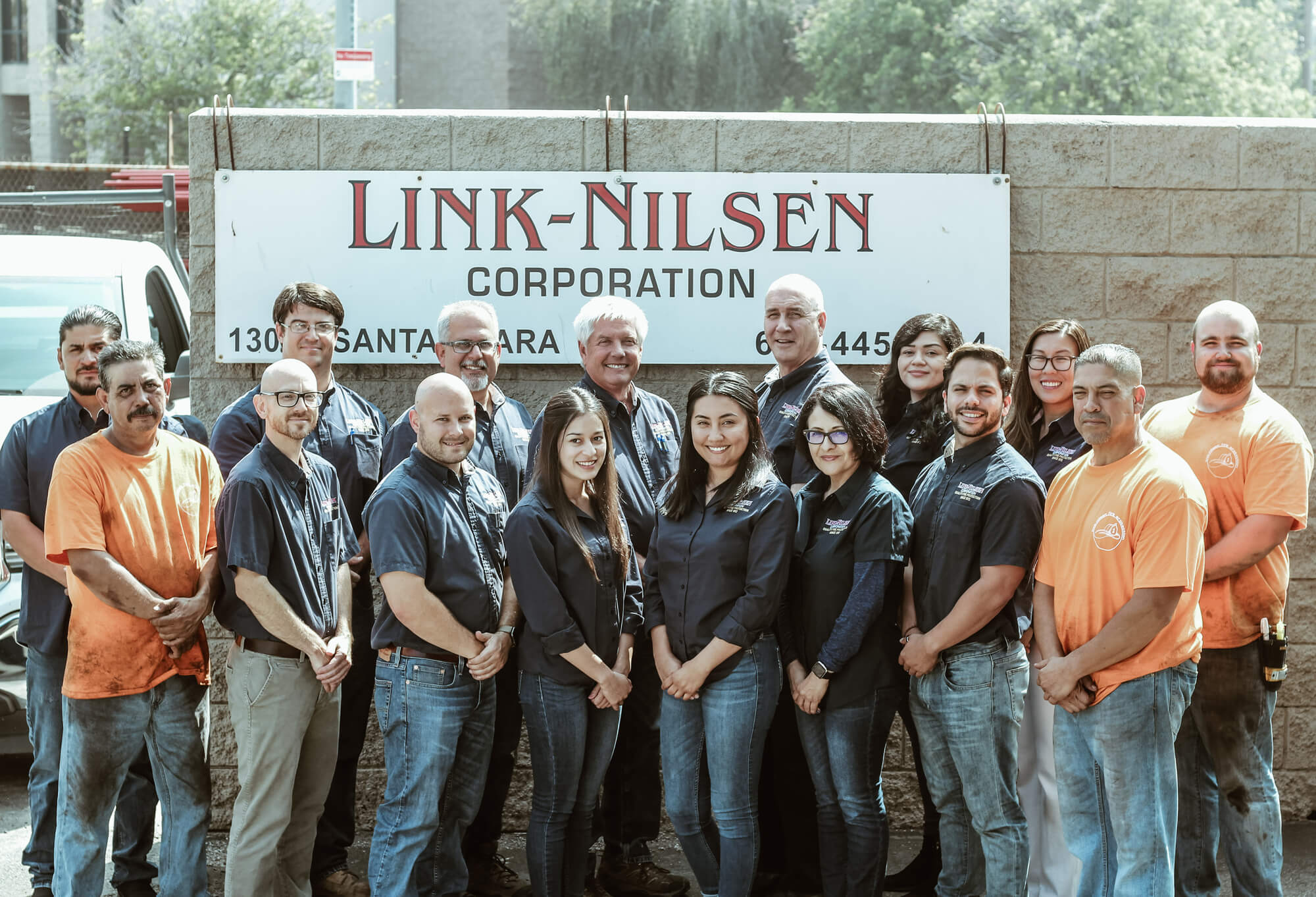 Link-Nilsen team photo