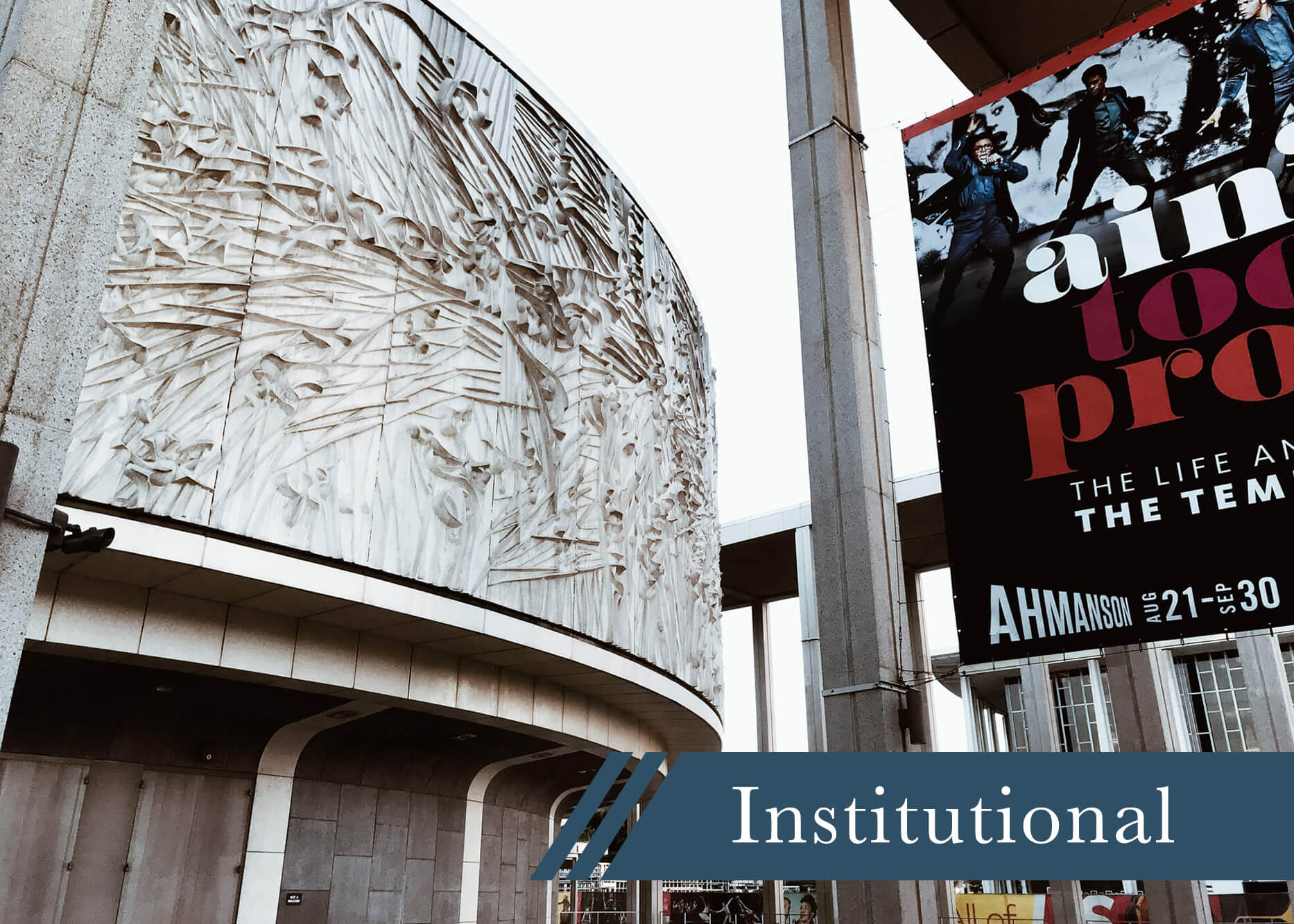 our experience institutional