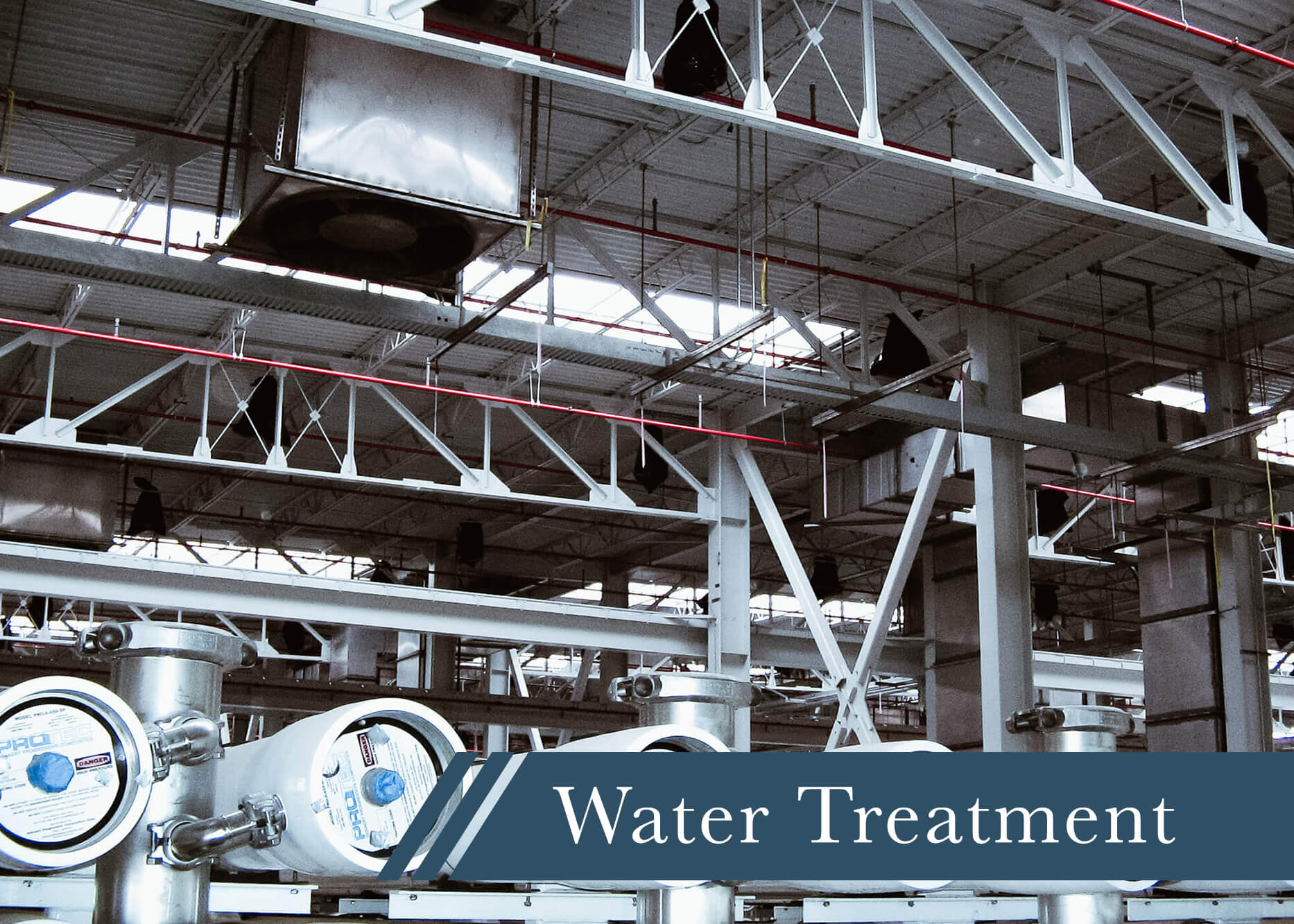 our experience water treatment